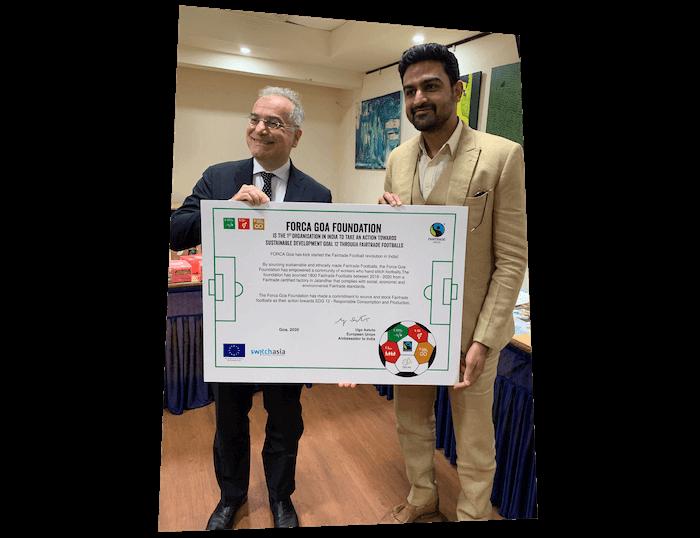 Awards - EU Ambassador visit